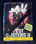 1989 Topps Ghostbusters II 2 Movie Trading Card Box