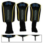 MICHIGAN WOLVERINES THREE PACK LONG NECK GOLF HEAD COVERS BRAND NEW WINCRAFT