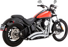 Vance  Hines Big Radius Exhaust Harley 86 17 Softail Chrome