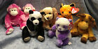 W-F-L TY Store Beanie Animals Selection I Exclusive Internet Dog Cat Panda