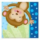 Baby Boy Monkey Dessert Cake Napkins 16 Count Shower and Birthday Party Supplies