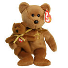 TY Beanie Baby - 2005 SIGNATURE BEAR (8.5 inch) - MWMTs Stuffed Animal Toy