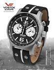 VOSTOK-EUROPE EXPEDITION NORTH POLE CHRONOGRAPH WATCH NEW IN BOX