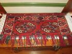 Handcrafted Turkaman Antique Wall Hanging/Rug ~ Hand Knotted