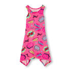 NWT CHILDRENS PLACE DRESS SLEEVELESS ACTION SHARK BITE BERRY PINK GIRLS 16