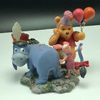 WINNIE POOH FRIENDS FIGURINE Walt disney resin birthday merriment eeyore piglet