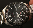 TAG Heuer Men's Swiss Made FORMULA 1 Black Dial Stainless Steel Watch