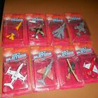 8 LOT Matchbox Skybusters 1988 UNPUNCHED NEAR MINT AIRPLANES JETS MARINES USAF