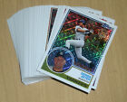 2018 Topps silver packs 1983 Chrome complete 50-card set