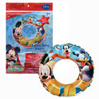 Disney Mickey Mouse Kids Inflatable 20 Swim Ring Tube Pool Float toy Ages3+ NIP