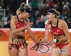 April Ross Kerri Walsh Jenning #2 Signed Photo Beckett Certified Olympc 021818