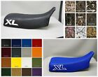 Honda  XL600R Seat Cover 1983-1987 in 25 COLORS    (solid XL on side / ST)