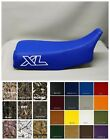 HONDA XL250R Seat Cover 1985 1986 1987 IN ROYAL BLUE (Outlined XL SIDES/ST)