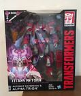 Transformers Generations Titans Return Autobot Soverign & Alpha Trion New Hasbro