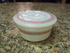 Vintage Hazel Atlas Platonite Grease Drippings Utility Jar w/Lid