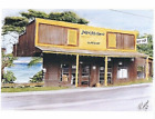 NATURAL ARTS SURF SHOP 1986 NORTH OAHU HALEIWA 85 x 11 COLOR GICLEE PRINT