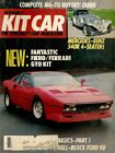 KIT CAR 1986 JULY VW ENGINES FOR KITS ELECTRICAL SYSTEM BASICS BILL DEVIN