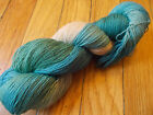 HAND PAINTED DYED SOCK YARN 90 WOOL 10 NYLON KEY LARGO 4 SPIDER GODDESS LK