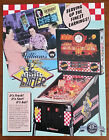 Original WILLIAMS - DINER Pinball Flyer - Vintage Collectible