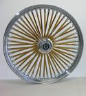 DNA MAMMOTH 26 x 35 FAT 52 GOLD SPOKE FRONT WHEEL TOURING FLH T R X HARLEY