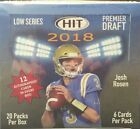 2018 SAGE HIT LOW SERIES FOOTBALL HOBBY SEALED BOX - IN STOCK!