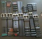 Wholesale Resale Mixed Liquidation Lot of 8 Timex Black Sport Watch Bands 48+