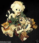 RARE GREEN ROBE SANTA BEAR BOYDS BEARSTONE KRINGLE & COMPANY #2283-01GCC-b91