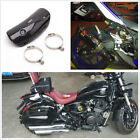 Carbon Fiber Motorcycle ATV Exhaust Middle Link Pipe Protector Heat Shield Cover