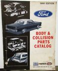 1963 1964 1965 1966 Ford Body Collision Parts Book T Bird Mustang Truck Bronco