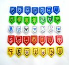 Lego Nexo Knights Power Shield Pattern 70372 Polybag Wave 1 Complete Set of 35