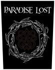 PARADISE LOST - Rückenaufnäher Backpatch Crown Of Thorns