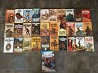 Lot of 31 VINTAGE Western Paperback HB Books ALL LOUIS LAMOUR