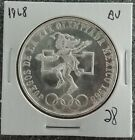 NEW 1968 Mexico Olympic 25 Pesos Silver Coin Ley 720 Uncirculated Siiver