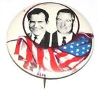 1968 RICHARD NIXON AGNEW campaign pin pinback button political presidential