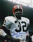 JIM BROWN CLEVELAND BROWNS SIGNED AUTOGRAPH 8X10 PHOTO