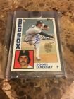 2017 Topps Archives Signature Buyback 1984 Dennis Eckersley Autographed Auto 99