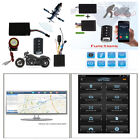 Motorcycle GPS Tracker+Remote Engine Start Keyless Entry Anti-Theft Alarm System