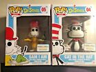 2 NEW Funko Pop Books Dr. Seuss Barnes & Noble Exclusive Sam I Am Cat in the Hat