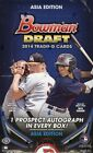 2014 BOWMAN DRAFT BASEBALL HOBBY BOX ASIA ED
