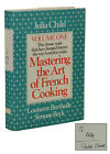 Mastering the Art of French Cooking SIGNED by JULIA CHILD 1992 Hardcover