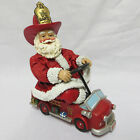 Fireman Firefighter Santa Claus Pedal Kiddie Car Fire Truck Fabriche Test Drive