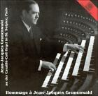 HOMMAGE … JEAN-JACQUES GRUNENWALD USED - VERY GOOD CD