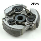 Pair CLUTCH PAD+SPRING Engine Clutch for 2 Stroke 47cc 49cc Mini Motorcycle ATV