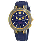 Versace V-extreme Blue Dial Mens Watch VCN010017