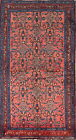 Spring Deal All-Over Floral Pink 4x6 Hamedan Persian Oriental Area Rug 6'5 x 3'6