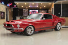 Ford Mustang Fastback Shelby GT500 Recreation Fresh Restomod Build! Ford 428ci FE, Tremec 5 Speed Manual, 4 Whl PDB, Leather!