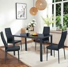 New 57 Piece Dining Table Set Different Style Tables Glass Metal Furniture Us