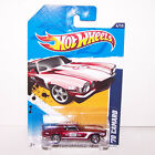 2012 Hot Wheels 70 Camaro Super Treasure Hunt Real Riders 144 247 w Protector