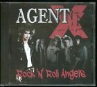 Agent X Rock 'N' Roll Angels CD new Indie Hair Metal reissue