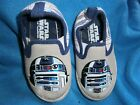 Child Toddler STAR WARS SLIP ON SNEAKERS SZ 7 LUCAS FILM LK